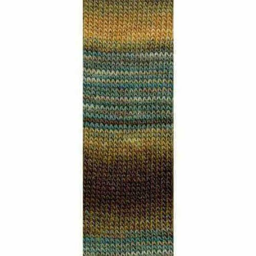 Lang Yarns Lang Yarns Mille Colori Socks Lace 11 bruin blauw