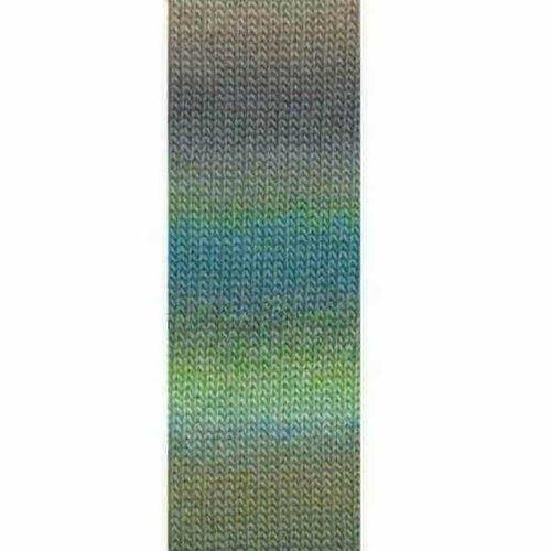 Lang Yarns Lang Yarns Mille Colori Socks Lace 16 groen bruin