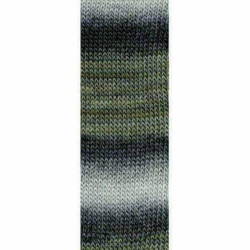 Lang Yarns Lang Yarns Mille Colori Socks Lace 24 grijs bruin