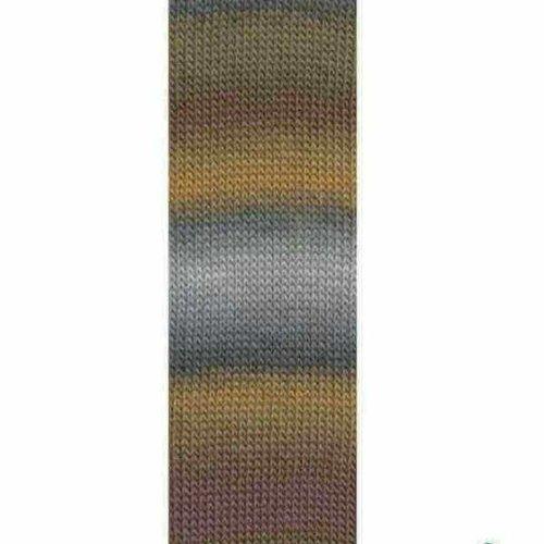 Lang Yarns Lang Yarns Mille Colori Socks Lace 3 grijs bruin