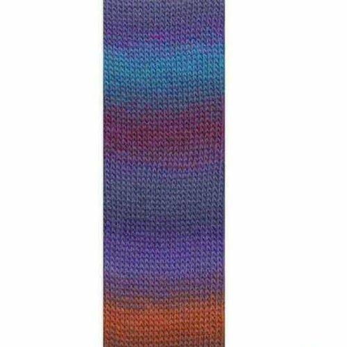 Lang Yarns Lang Yarns Mille Colori Socks Lace 46 paars blauw