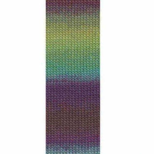 Lang Yarns Lang Yarns Mille Colori Socks Lace 53 paars blauw