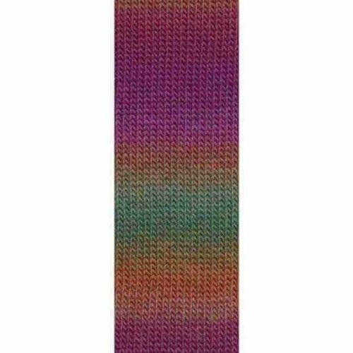 Lang Yarns Lang Yarns Mille Colori Socks Lace 66 groen paars