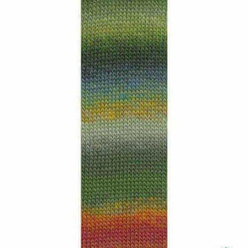 Lang Yarns Lang Yarns Mille Colori Socks Lace 97 groen blauw