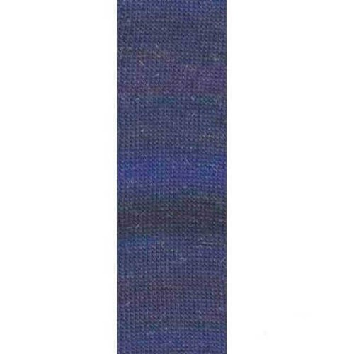 Lang Yarns Lang Yarns Mille Colori Socks Lace Luxe 35 Donkerblauw