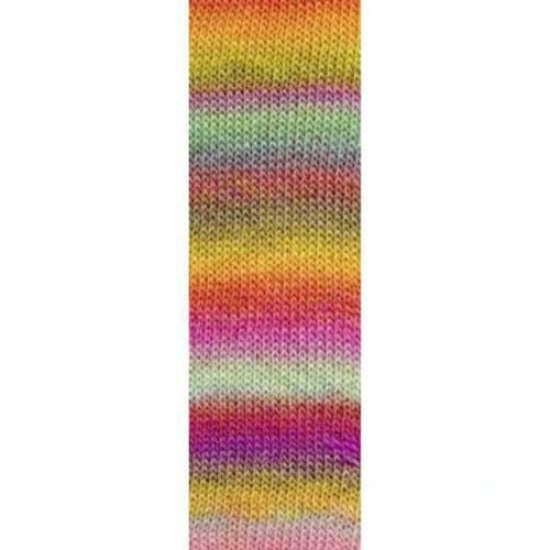 Lang Yarns Lang Yarns Mille Colori Socks Lace Luxe 53 Happy