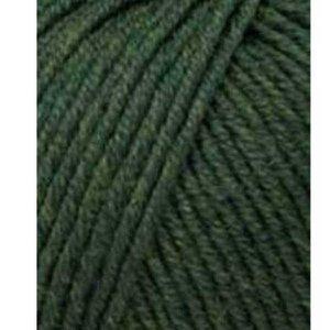 Lang Yarns Merino 120 398 groen mix