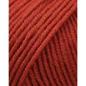 Lang Yarns Merino 120 211 oranje/rood