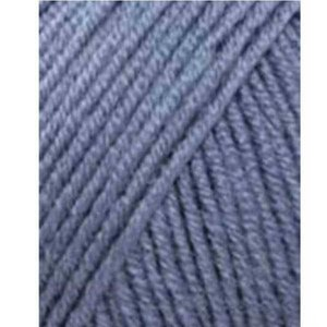 Lang Yarns Merino 120 21 middenblauw