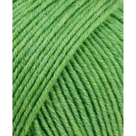 lang yarn Lang Yarns merino 120 317 groen gemêleerd