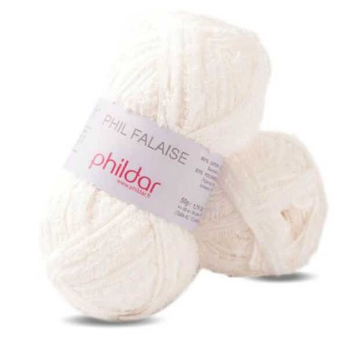 Phildar Phildar Phil Falaise 010 Blanc