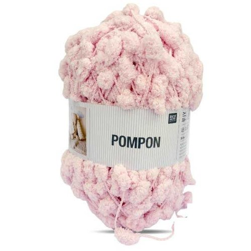 Rico Rico Creative Pompom 5 meter 019 Baby Pink