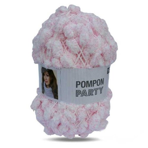 Rico Rico Creative Pompom 5 meter 004 Party Pink