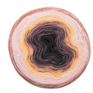 Creative Wool Degradé Super 6 Puder grau 003