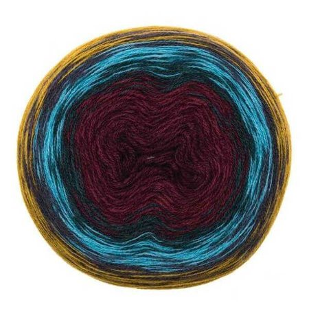 Creative Wool Degradé Super 6 Senf rot 006