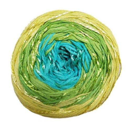 Lang Yarns Lang Yarns Bloom 0044 Groen Blauw