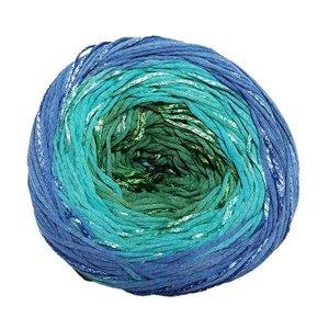 Lang Yarns Bloom 0073 Blauw Turquoise Groen