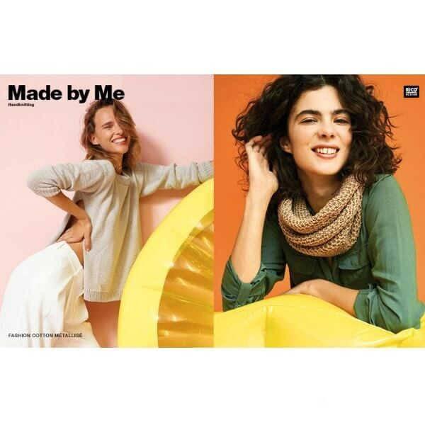 Rico fashion Cotton metallise dk 003 gold