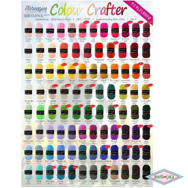 Scheepjes Scheepjes Colour Crafter 1011 Tynaarlo
