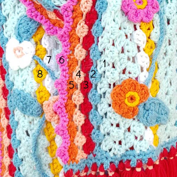 hoe combineer ik mooie kleuren in mijn haakwerk. - atelier bonita-loka