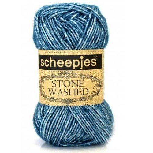 Scheepjes Scheepjes Stone Washed  805 Blue Apetite