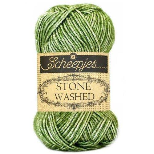 Scheepjes Scheepjes Stone Washed  806 Canada Jade