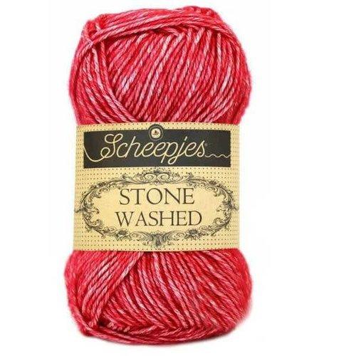 Scheepjes Scheepjes Stone Washed  807 Red Jasper