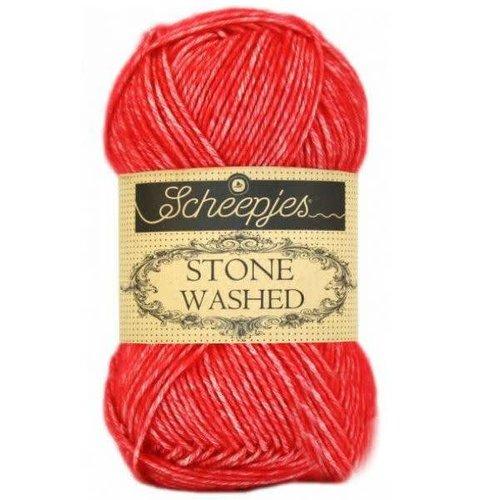 Scheepjes Scheepjes Stone Washed  823 Carnelian