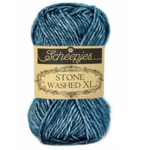 Scheepjes Scheepjes Stone Washed XL 845 Blue Apetite