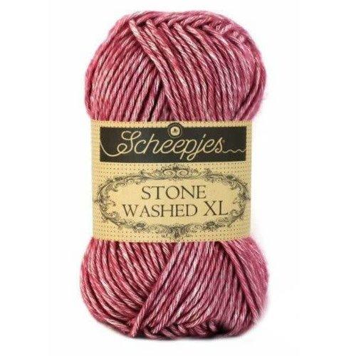 Scheepjes Scheepjes Stone Washed XL 848 Corundum Ruby