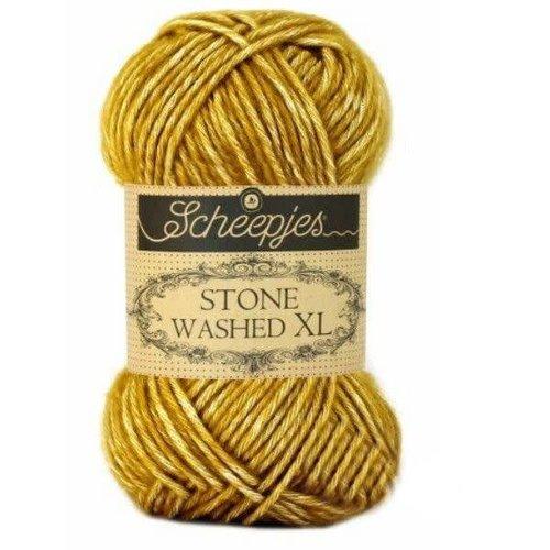 Scheepjes Scheepjes Stone Washed XL 849 Yellow Jasper