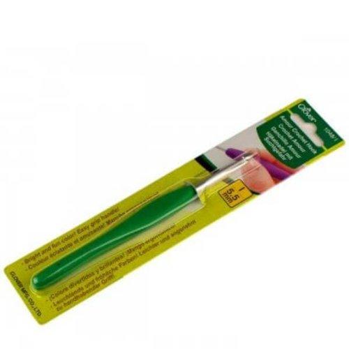 Clover 5.5mm groen Clover Amour haaknaald