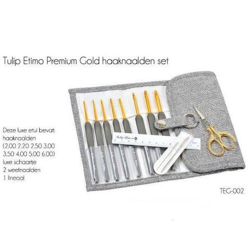 Premium Gold haaknaalden set
