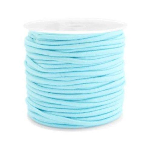 Elastiek aqua blue