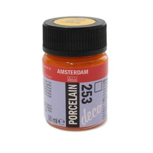 Amsterdam deco porcelain 253 Goudgeel