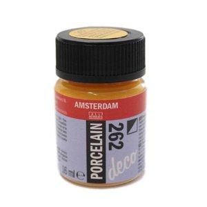 Amsterdam deco porcelain 262 Goudgeel Dekkend