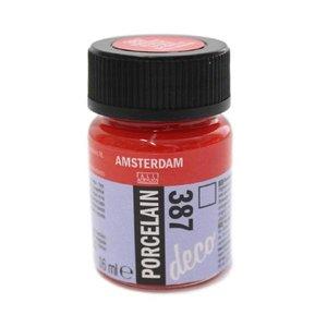 Amsterdam deco porcelain 387 Helderrood