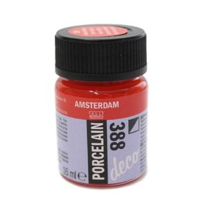 Amsterdam deco porcelain 388 Helderrood Dekkend