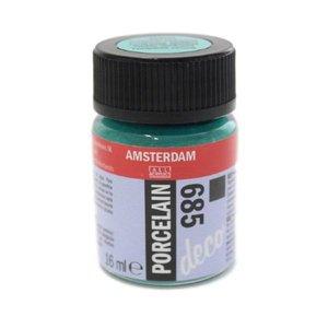 Amsterdam deco porcelain 685 Turkoois Dekkend