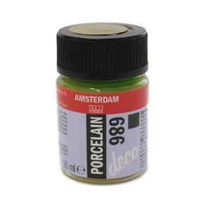 Amsterdam deco porcelain 686 Olijfgroen Dekkend