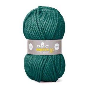DMC Knitty 10 904 groen gemeleerd