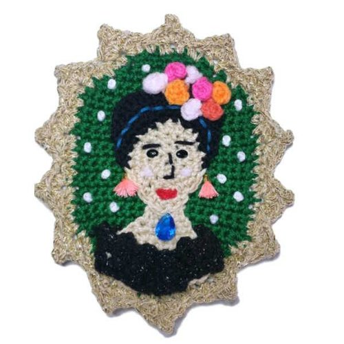 Frida Kahlo Camee haakpakket