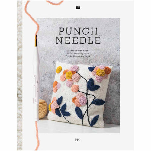 Punch Needle Rico boek