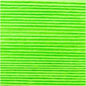 Neon groen polyacryl 25 gr