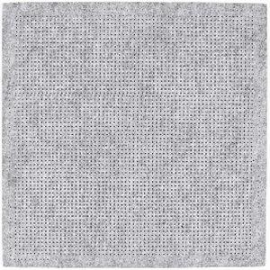 Vilt kussen borduren grijs 42x42cm
