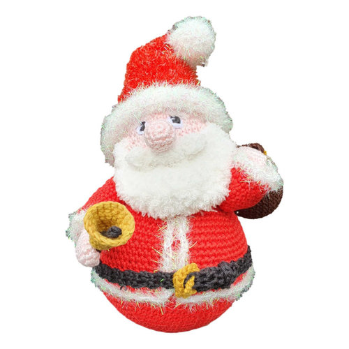 Kerstman garenpakket incl tuimelbal