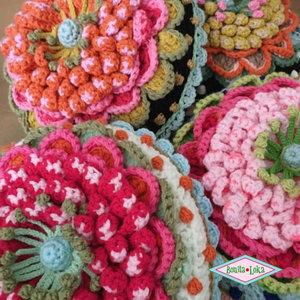 Workshop bloem kussen met Adinda 29 nov