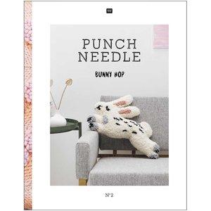 Punch Needle Bunny Hop