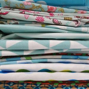 Mondkapje naaipakket mint & licht blauw