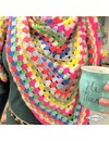 patroon I ❤ neon sjaal
